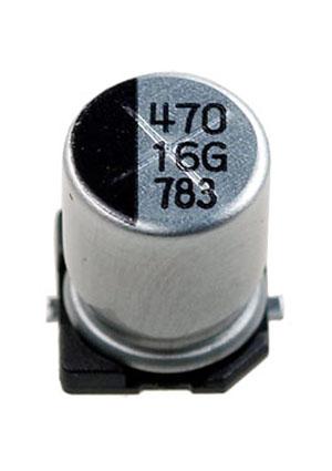 CA016M0470REF-0810, ЧИП электролит.конденсатор  470мкф 16В  8x10.5