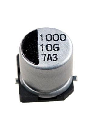 CA010M1000REG-1010, ЧИП электролит.конденсатор 1000мкф 10В  10x10.5