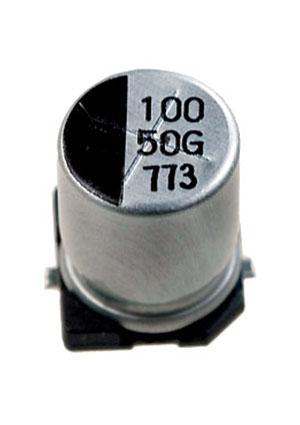 CA050M0100REF-0810, ЧИП электролит.конденсатор  100мкф  50В  8x10.5
