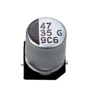 CA035M0047REH-0607, ЧИП электролит.конденсатор   47мкф  35В  6.3x7.7