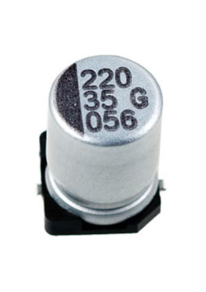 CA035M0220REF-0810, ЧИП электролит.конденсатор  220мкф 35В  8x10.5