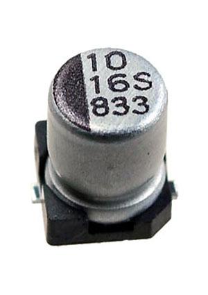 CB016M0010RSB-0405, ЧИП электролит.конденсатор   10мкф  16В 105г  4x5.4