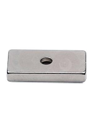 Магнит прямоугольник 20х10х3/6,5х3мм с зенковкой неодим