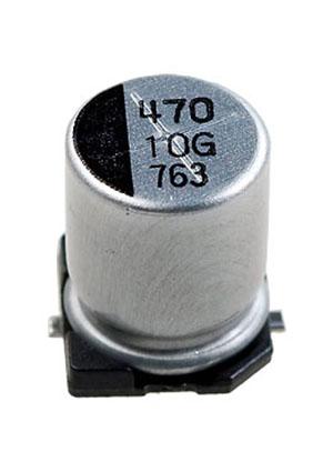 CA010M0470REF-0810, ЧИП электролит.конденсатор  470мкф 10В  8x10.5