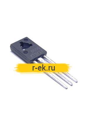 КТ972А, Транзистор биполярный, NPN, 60В, 2А, 8Вт, h21е >750 [КТ-27] (=BD875)