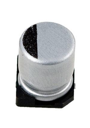 CA025M0010REC-0505, ЧИП электролит.конденсатор   10мкф  25В  5х5.4
