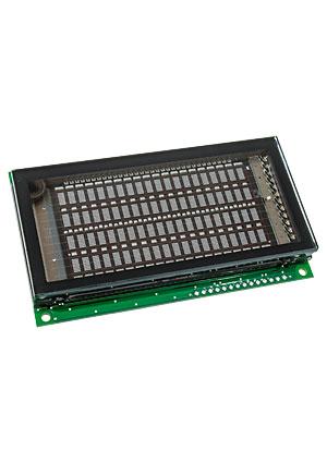 M204SD08AA, (замена M204SD02AJ) вакуум-люмин.индикатор  20x4, анг/рус